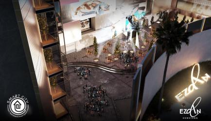 80 meter store in Ezdan Mall