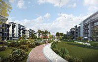 .شقة بمساحة 245 متر بكمبوند فيفث سكوير