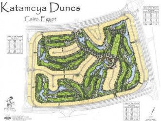 Townhouse with area 375m² in Katameya Dunes