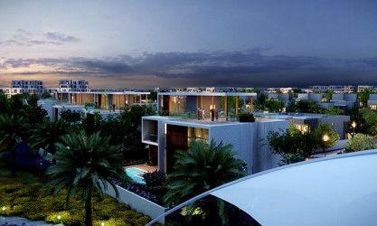 Apartment with area 108m² in Taj City