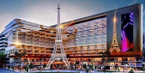 محلات بمساحة 75 متر في مول باريس