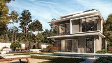 With an Area of 239 meters Town House in Il Bosco City