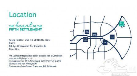 فيلا في فيفث سكوير القاهرة الجديدة بمساحة 348 متراً