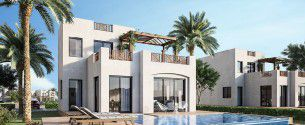 Villa with area 133m² in Makadi Heights
