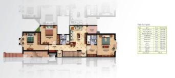 Scheme Of 1st Floor villa of 278 m² in Mountain View Hyde Park