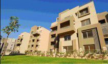 Apartments overlooking the gardens in Katameya Gate from Mimaar El Morshedy