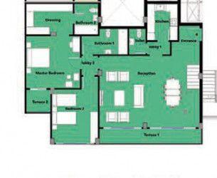 Duplex with area of 246 meters in Boardwalk