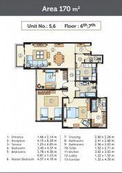 Own 170 m² in Golden Yard Marseilia