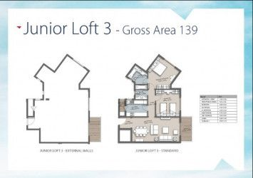 Apartment 139m in The Loft Compound.