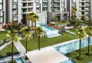 شقة بمساحة 121 متر في سوان ليك ريزيدنس