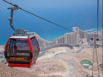 Chairlifts for Porto Sokhna Resort.