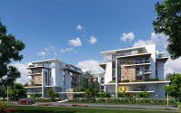 Apartments in Mountain View iCity compound with an area of 140m