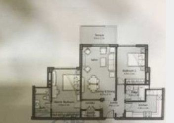 Apartment in Uptown Cairo Compound with Area 147 m²