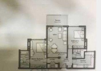 شقة في كمبوند أب تاون كايرو بمساحة 147 متر