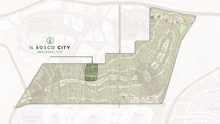 للحجز وحدات سكنية في كمبوند البوسكو سيتي