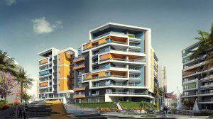 وحدات سكنية بفيو متميز بكمبوند الموندو
