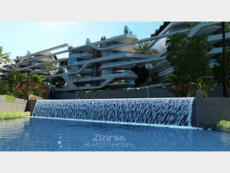 شلال بكمبوند زيزينيا بمدينة المستقبل