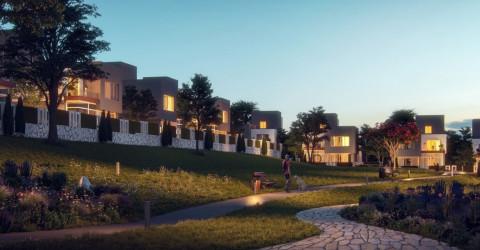 مساحات خضراء بكمبوند إيتابا الشيخ زايد