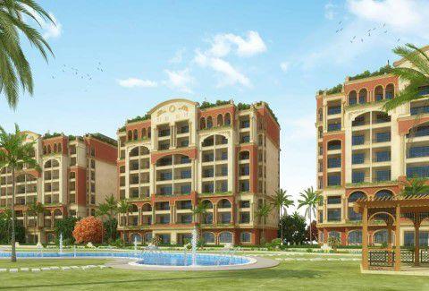وحدات سكنية ومساحات خضراء وحمام سباحة بكمبوند ذا سيتي فالي