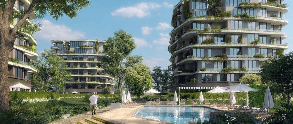 وحدات سكنية في كمبوند ارمونيا العاصمة الجديدة