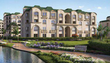 وحدات سكنية ومساحات خضراء بكمبوند لافينير