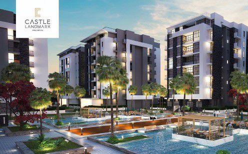 وحدات سكنية للبيع في كمبوند كاسيل لاند مارك بالعاصمة الجديدة