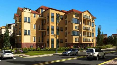 وحدات سكنية في كمبوند نيوبوليس بمدينة المستقبل