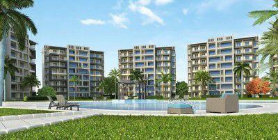 وحدات سكنية وحمام سباحة بكمبوند ذا سيتي