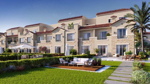 وحدات سكنية وحدائق داخل كمبوند لافيستا سيتي