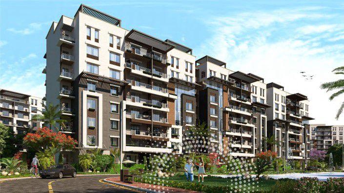 شقق سكنية بكمبوند تاون جيت العاصمة الجديدة