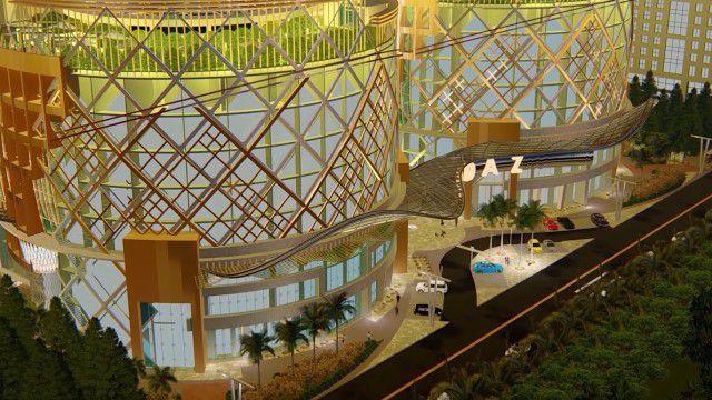 مبني مول أوداز العاصمة الادارية الجديدة