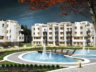 وحدات سكنية وحمامات سباحة بكمبوند تريليوم