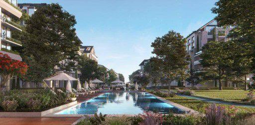 مساحات خضراء بكمبوند ذا لوفت العاصمة الجديدة
